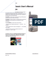 ProfileMD Classic Manual