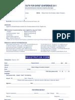 SYC Registration Form
