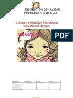 MANUAL DE GESTIÓN DE CALIDAD DE LA EMPRESA1