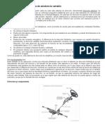 Dirección electromecánica de asistencia variable