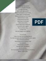 Poem by Chogyam Trungpa