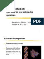 Aminocidos Estructuras y des Quimicas