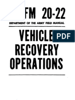 Vehicle Recovery - FM 20-22