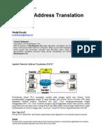 Tutorial Network Adress Translation (NAT)