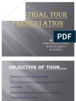 Industrial Tour Ppt