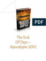 The End Of Days – Apocalypse 2012