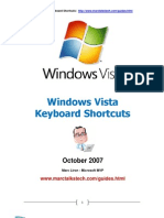 Vista Keyboard Shortcuts