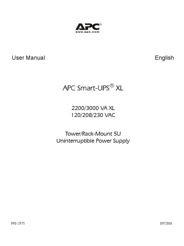 apc sua2200xl to 3000 manual aste 6ywrzt r0 en electrical rh scribd com Online Repair Guide How Do I Fix It