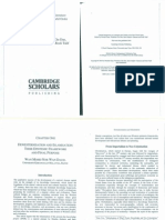 %$# Dewesternisation and ion Their Epistemic Framework and Final Purpose