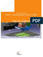 CATIA - Freestyle Sketch Tracer 1 (FSK)