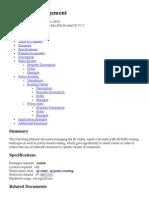 IP Route Management