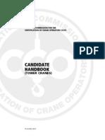 Candidate Handbook Tower Crane