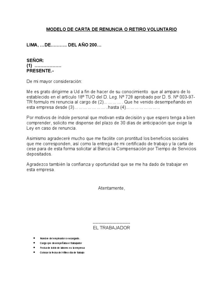 Carta De Empleo En Word Constancia de trabajoPlantilla de Carta De ...