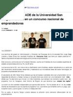 Alumnos de La USJ en Yuzz Zaragoza