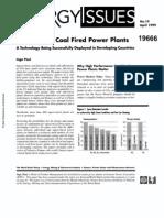Super Critical Technology Steam Power Plant