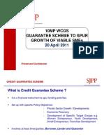 D2 10MP Working Capital Guarantee Scheme