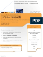 Dynamic Intranets