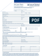 Inter Global Claim Form 2010