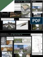 Painel de Projeto Referencial Sobre o High Line Park