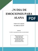 Un Dia de Emociones Para Alana