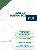 Bab 13 Dasar Pembangunan Sosial