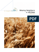 Missing Neighbors in WCDMA Analysis Guide