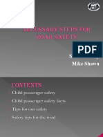 Necessary Steps for Road Safety