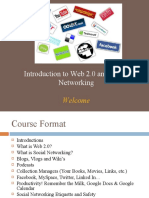 Web 2 0 and Social Networking