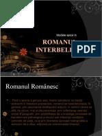 Modele Epice in Romanul Interbelic (I)