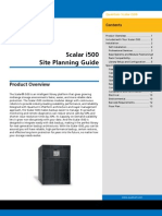 6-01733-04 a Scalari500 Site Planning Guide