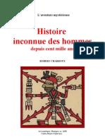 Aventure Mystérieuse Robert Charroux Histoire Inconnue des Hommes