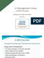 Microsoft SQL Server Dynamic Management Views