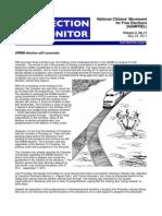 NAMFREL Election Monitor Vol.2 No.11 05232011