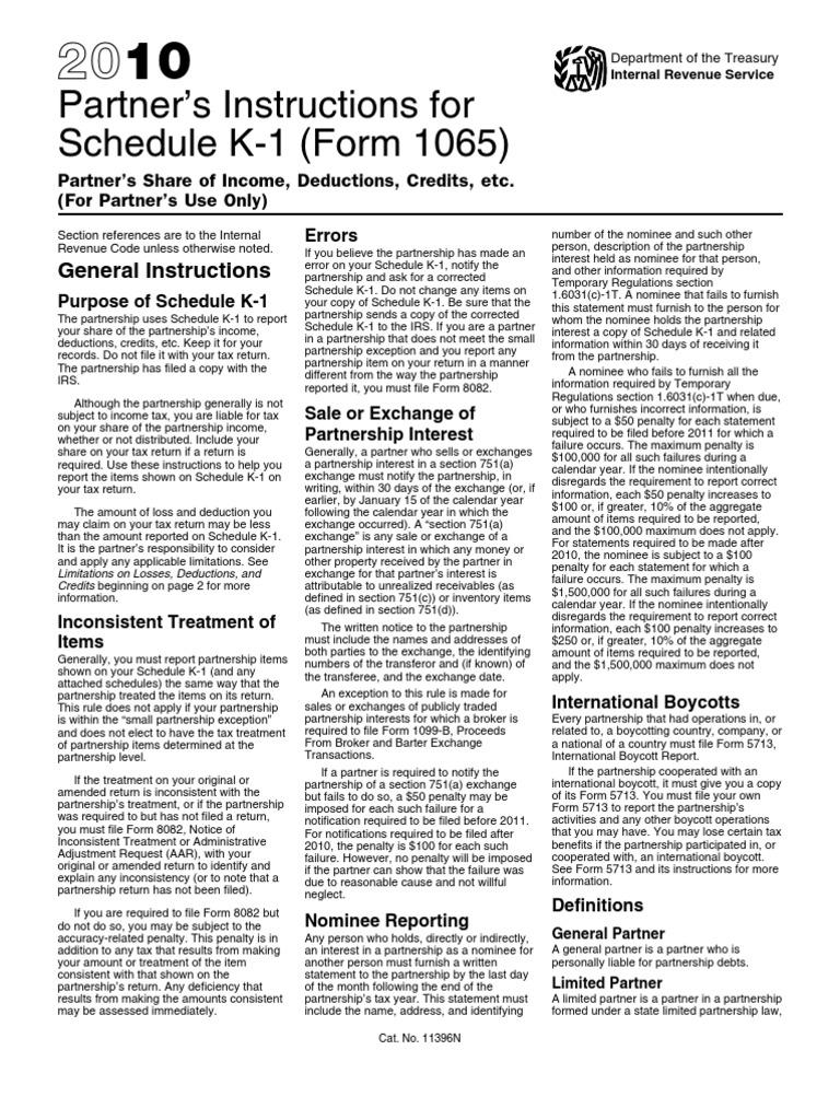 i1065sk1 | Tax Deduction | Partnership