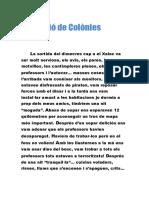 REDACCIÓ DE COLONIES