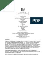 Super Injunctions committee report