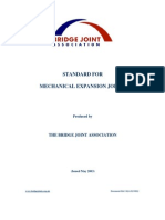 Standard for Mechanical Expansion Joints
