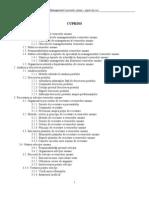 Managementul Resurselor Umane (Remes Eugen) Curs 2011