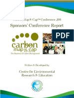 Carbon Map & Cap - Sponsors Report