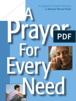 Prayer for Every Need Booklet
