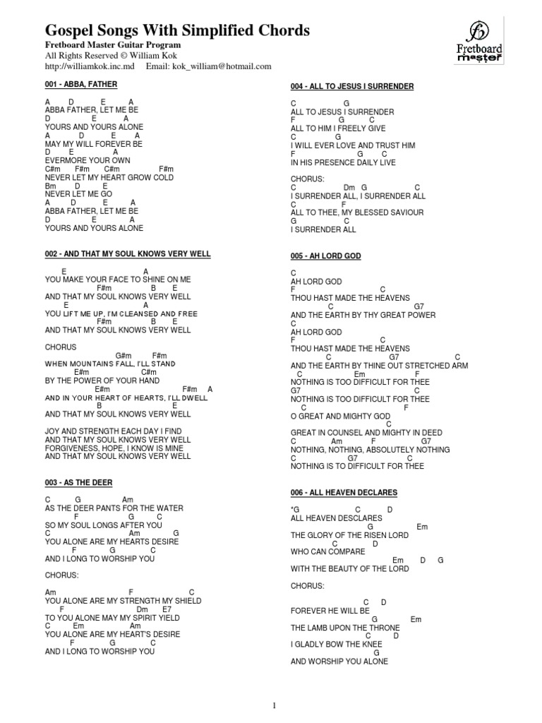 Guitar chords to in christ alone images guitar chords examples gospel songs chords part 2 fatherlandz images hexwebz Image collections