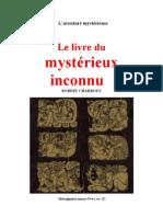Aventure mystérieuse Robert Charroux Le Livre du mystérieux inconnu