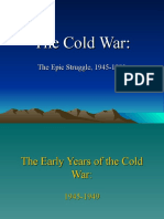 The Cold War, Part One