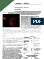 Gliese 581 colpisce ancora