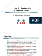 CCNA Exp1 - Chapter06 - Addressing the Network