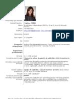 europas CV