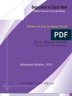 Delhi school of Social Work
