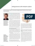 Automate Core Banking Processes With Enterprise Capture