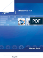 Aloha Table Service Manager Guide v6.1