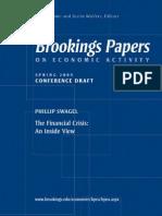 Spring 2009 Philip Swagel Paper